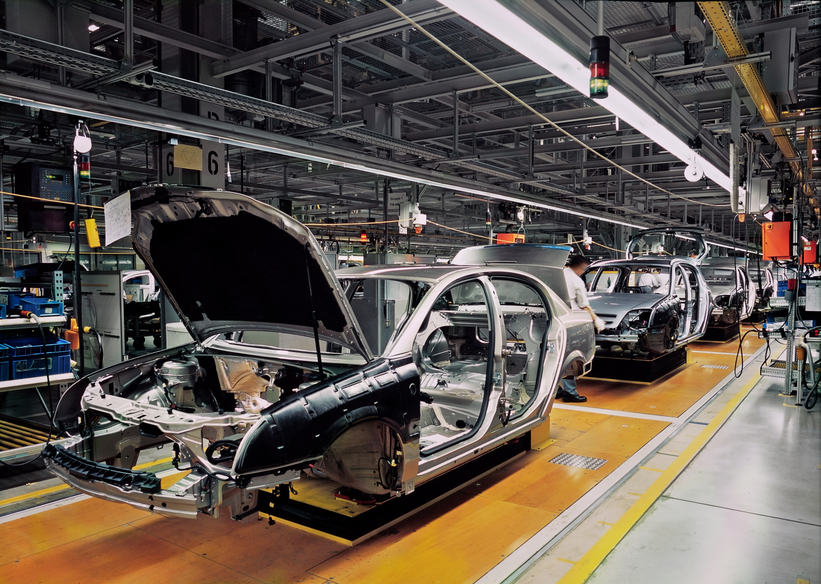 lean in automobile industry